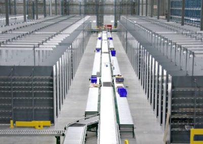 Conveyor Warehouse Shelving